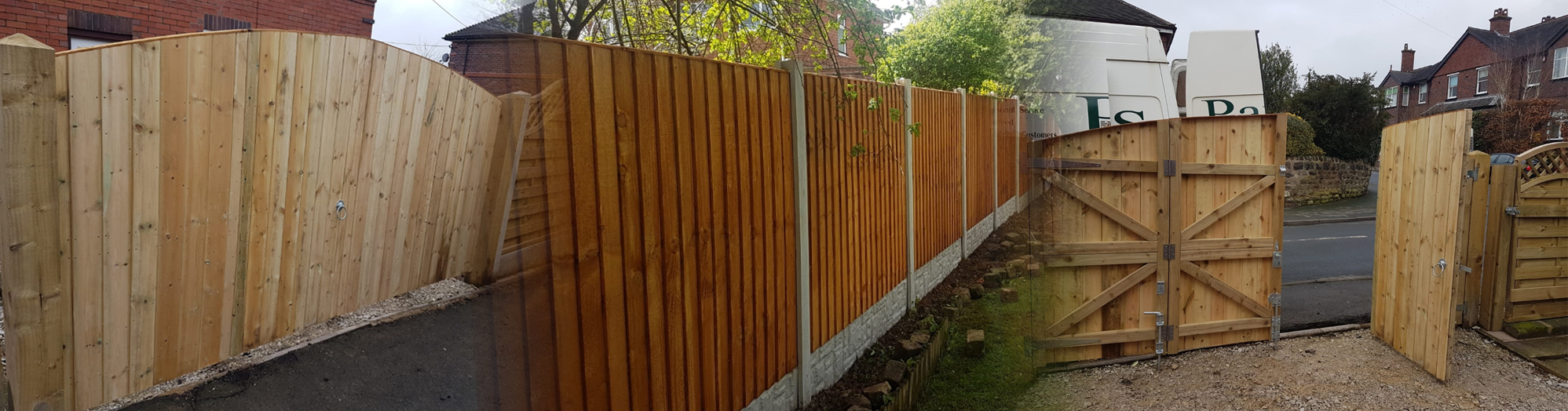 Home Pauls Fencing Domestic Wooden Fencing Domestic